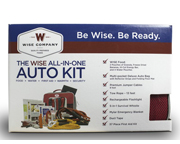 WISE FOOD EMERGENCY AUTO KIT BOLSO DE EMERGENCIA PARA EL AUTO